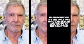 only harrison ford