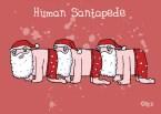 Human Santapede