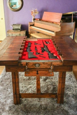 table weapons locker