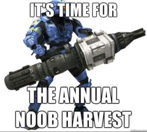 the annual noob harvest