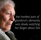 the hardest part of grandma's dementia