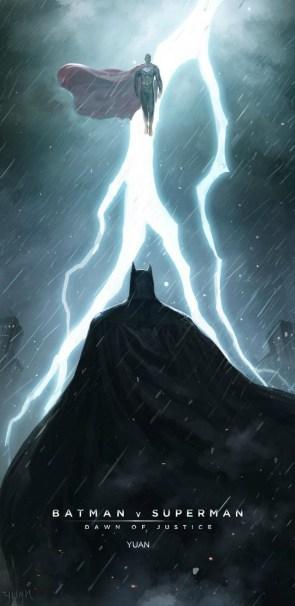 Batman v Superman confrontation