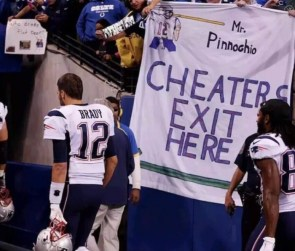 Cheaters Exit Here