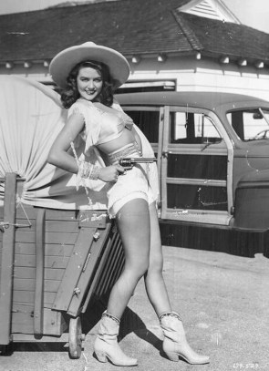 Dorothy Malone did all her own stunts