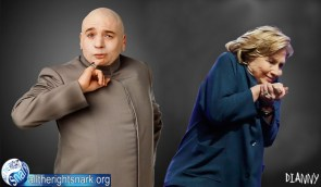 Dr Evil and His Girl Friend Hillary Clinton