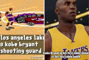 Kobe and his video games