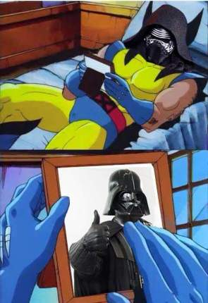 Kylo Ren misses his Pappa