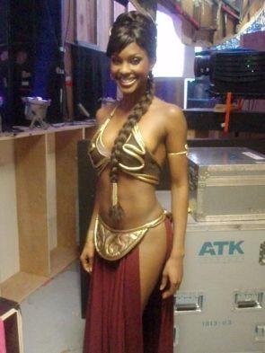 Lanisha Cole as Princess Leia