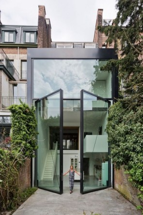 Massive Glass Doors
