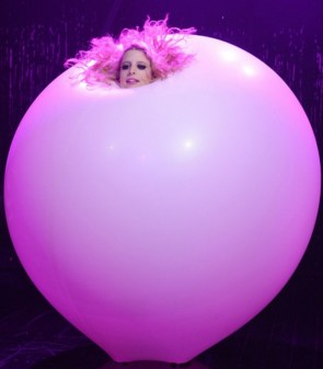 Pink Balloon woman
