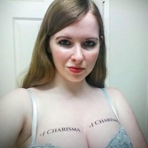 Plus one to charisma