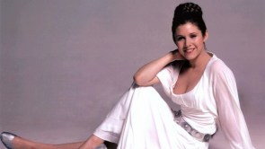 Princess Leia in white