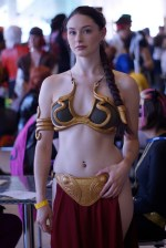 Slave Leia cosplayer in a crowd.jpg