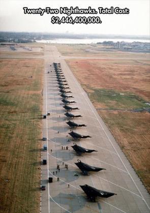 Twenty-Two Nighthawks