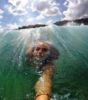 Wave rider selfie