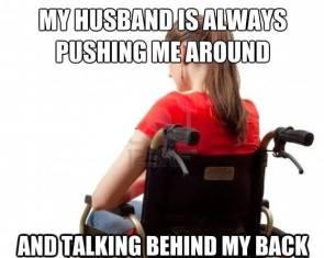 always pushing me around