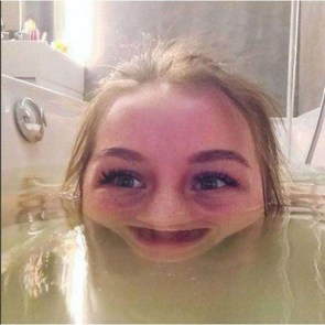 Send me a picture of you in the bath…