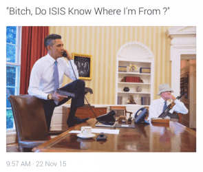 bitch do isis know