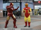 choose the right team