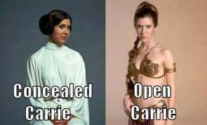 concealed carrie vs open carrie