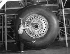 convair xb 36 peacemaker – 110 inch landing gear wheels