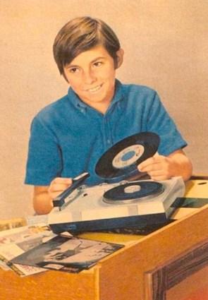 Change the record kid