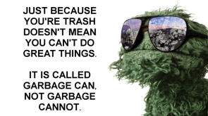 just because you're trash