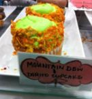 moutain dew and dorito cupcakes