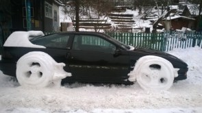 unique snow tires