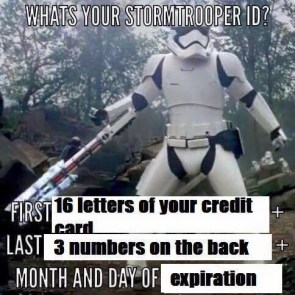 what's your stormtrooper ID