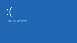 your PC can't even