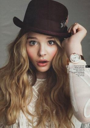 Chloe has a nice hat