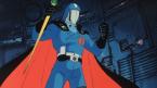 Cobra Commander has a cape