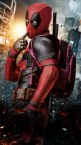 Deadpool with his ammo bag
