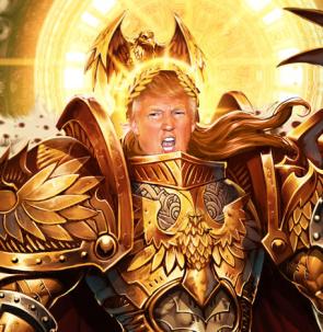 Emperor Trump Rages