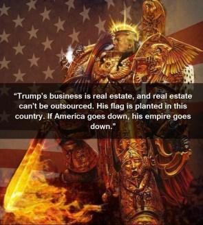 Emperor Trump and America