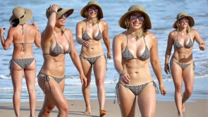 Hillary Duff in a bikini