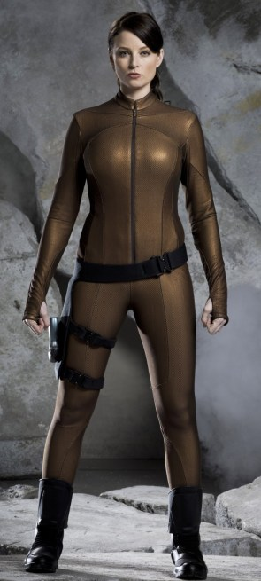 Rachel Nichols was a cop from the future