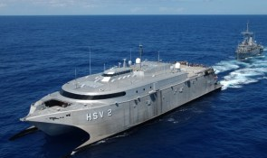 Stealth Military Boat