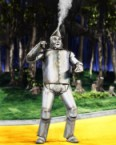 The Tin Man Tooting His Own Horn