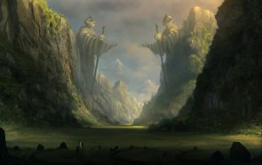 The elvish Gates