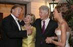 Trump Weddy with Hillary