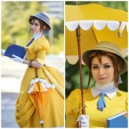 Yellow Cosplayer