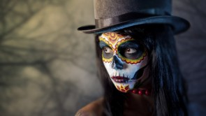Zombie Face Art