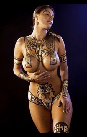 ancient body paint