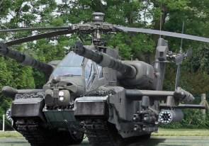 battle helicoptor tank