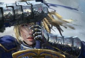 blue eyed sword carrier