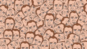 caged wallpaper
