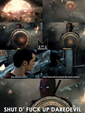 deadpool in BvS trailer
