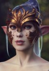 elf mask with ears